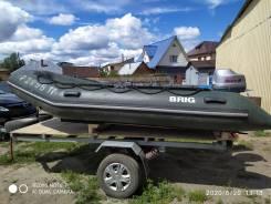 BRIG Baltic B380. длина 3,80м., двигатель подвесной, 30,00л.с., бензин