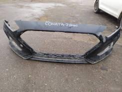 Передний бампер Hyundai Sonata 7 16+