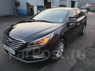Hyundai Sonata. Без водителя