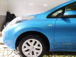 Крыло левое Nissan LEAF ZE0 цвет голубой RAT