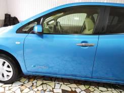Дверь передняя левая Nissan LEAF ZE0 цвет голубой RAT