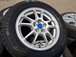 "Bridgestone Blizzak Revo GZ 195/65R15. 6.0x15"" 5x100.00 ET45"
