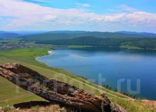 Земельный участок в Шарыповском р-н, Большое озеро. 1 031кв.м., собственность, электричество, вода