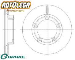 Диск тормозной передний G-brake MMC Canter (FG) FG50E FG52E FG50# GR-21645