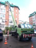 Isuzu Forward Juston. Продается автовышка Isuzu Forward 24 метра, 7 127куб. см., 24,00м.
