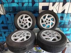Комплект летних колес 195/65 R15 на литье 5х114.3 без пробега по РФ