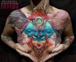 Художественная татуировка, тату, татуаж