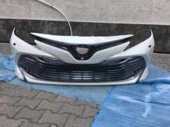Бампер Toyota Camry 2019 (9 поколение) Под Омыватель Камеру Сонары