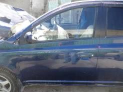 Дверь Toyota Platz, левая передняя NCP12, 1NZFE в Новосибирске