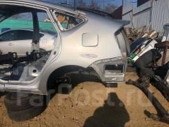 Крыло левое заднее цвет серый 1F7 Toyota Prius NHW20