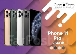 Apple iPhone 11 Pro. Новый, 256 Гб и больше, Белый, Зеленый, Золотой, Серебристый, Серый, Черный, 3G, 4G LTE, Dual-SIM, Защищенный, NFC