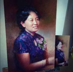 Портрет по фото - масляная живопись
