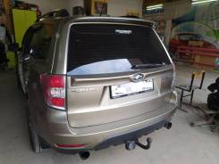 Спойлер багажника. Subaru Forester, SH, SH5, SH9, SH9L, SHD, SHG, SHH, SHJ, SHM, SHN. Под заказ