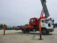 Kukji. Автовышка Kukjae 2014 год 45 метров на базе Daewoo Novus, 45,00м. Под заказ