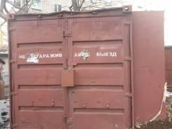 Гаражи металлические. улица Хабаровская 27а, р-н Первая речка. Вид снаружи