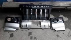 Бампер - Перед Mitsubishi Pajero MINI DUKE 2000-2012