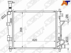 Радиатор KIA Morning 11-, KIA Picanto 11- SAT KI0003-11