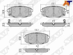 Колодки тормозные Hyundai Creta 16-, Hyundai I30 07-12, KIA CEED 07-12, KIA Cerato/Forte 08-13 ST-58101-1HA10, передний
