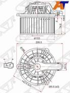 Мотор отопителя салона Hyundai Azera 11-, Hyundai IX35 10-, Hyundai Sonata VI 09-, Hyundai Sonata VII 14-, Hyundai Tucson 16-, Hyundai Tucson/IX35 10...
