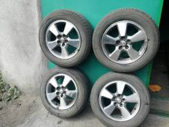 Комплект оригинал дисков Toyota Wish R15 c шинами ykohama 195/65/R15