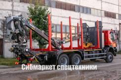 Iveco Trakker. Новый сортиментовоз / Ивеко АМТ 633920 с КМУ, 12 880куб. см., 25 000кг., 6x6. Под заказ