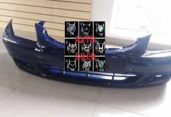 Бампер передний Hyundai Accent 8651025040 в цвет синий