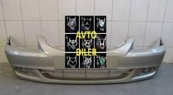 Бампер передний Hyundai Accent 8651025040 Бежевый Н01 Летной Песок