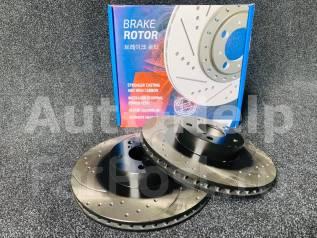 Диски тормозные перед перфорированные Avantech BR1801S | BR1802S