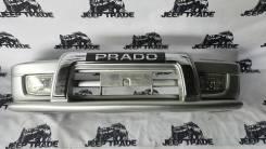 Бампер передний 2ая модель для Land Cruiser Prado 90/95