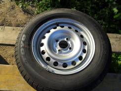 Летние легкогрузовые колеса: шины 165/R14 Toyo на штампах 4x114,3.