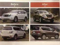Кузовной комплект. Nissan Patrol, Y62, Y61 TB45E, TB48DE, TD42, ZD30DDTI