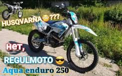 Regulmoto Aqua Enduro. 250куб. см., исправен, птс, без пробега