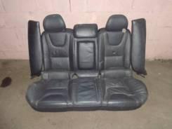Volvo s60 2 заднее сиденье в сборе черная кожа с изовикс 39803545