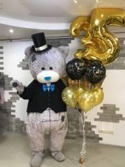 Мишка Тедди поздравление с Днем Рождения