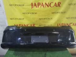 Бампер задний, чёрный(Perla Nera), Peugeot 308 2007-11г