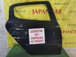 Дверь правая задняя, чёрный(Perla Nera), Peugeot 308 2007-11г