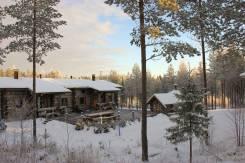 Туристический комплекс на горнолыжном курорте в Финляндии (Вуокатти)
