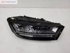 Фара передняя правая Audi Q7 2 LED ДХО