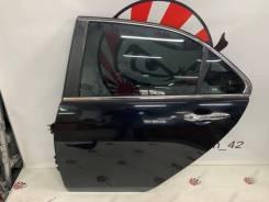 Дверь задняя левая (B92P - черный) Honda Accord CL9 #13