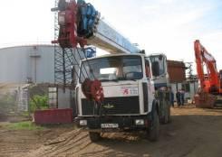 Аренда автокрана 32 тонны Галичанин КС-55713-6 шасси МАЗ-6303 (6х4)