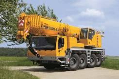 Аренда автокрана 100 тонн Liebherr LTM1100-4.2
