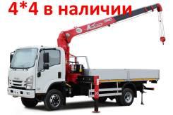 Isuzu. 4*4 КМУ в лизинг в Якутске, от 10% взнос, 5 100куб. см., 4 400кг., 4x4