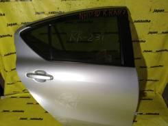 Дверь задняя правая Toyota Aqua, NHP10, 1Nzfxe (1F7)