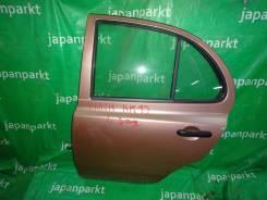 Дверь Nissan March AK12, CR12, 2008г. в. задняя левая