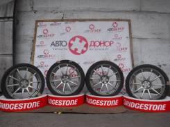 "Колеса-диски Advan Racing RS с резиной Kenda. 7.5x18"" 5x100.00 ET48"