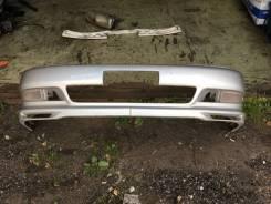 Передний бампер рестайли с оригинальной губой! Toyota Cresta jzx90 gx90