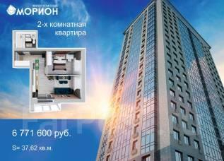 2-комнатная, улица Брянская 18а. Чуркин, частное лицо, 37,6кв.м.