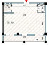 3-комнатная, улица Нейбута 81а стр. 3. 64, 71 микрорайоны, проверенное агентство, 60,4кв.м. План квартиры