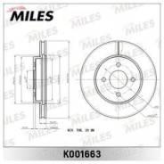Тормозной диск передний Miles K001663
