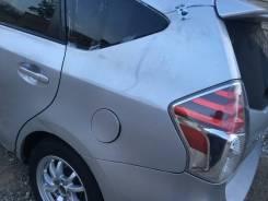 Крыло левое заднее 2015год. Рестайл. Toyota Prius а, ZVW41, 2ZR.
